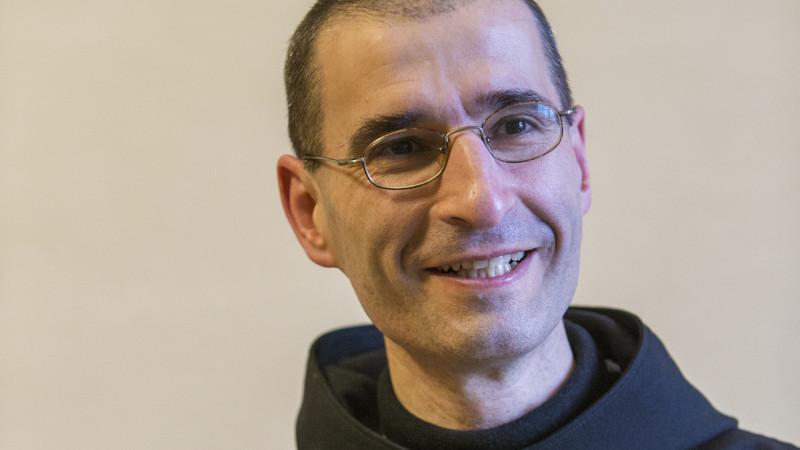 Dom Marc de Pothuau, Père Abbé de l'Abbaye cistercienne d'Hauterive (Photo: Jean-Claude Gadmer)