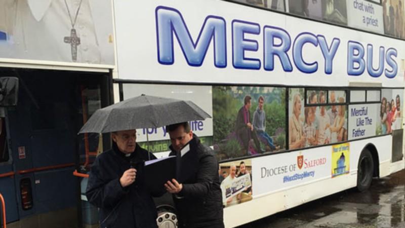 Le bus de la miséricorde du diocèse de Salford, en Angleterre (Photo: Diocese of Salford)