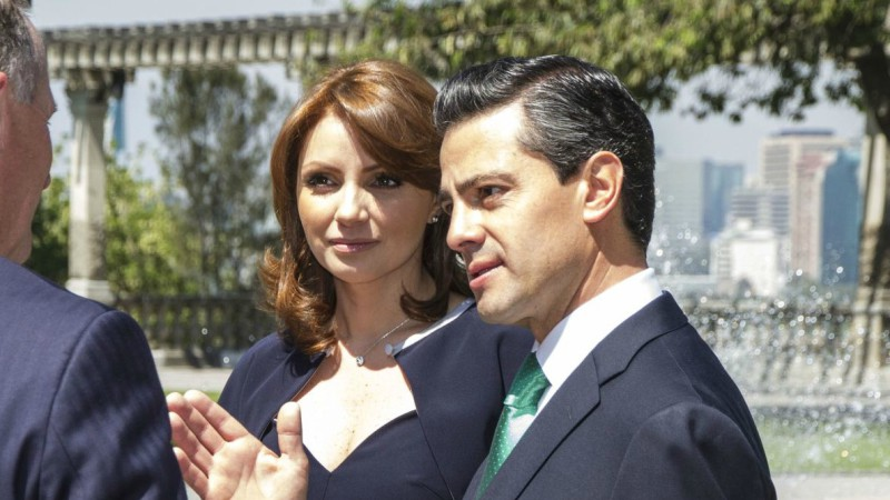 "Le président mexicain Enrique Pena Nieto et sa femme Angelica Rivera (Photo: nznationalparty/Flickr/<a href=""https://creativecommons.org/licenses/by-nc-nd/2.0/legalcode"" target=""_blank"">CC BY-NC-ND 2.0</a>)"