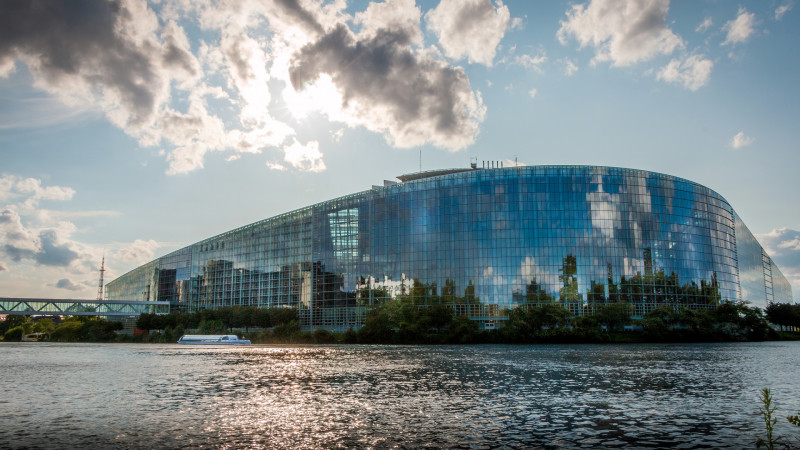 "Le parlement européen à Strasbourg  (Photo: flickr:/k_raw/<a href=""https://creativecommons.org/licenses/by-nd/2.0/legalcode"" target=""_blank"">CC BY-ND 2.0</a>)"