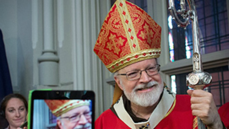 Cardinal Seán Patrick O'Malley,archevêque de Boston et président de la Commission Pontificale pour la Protection des Mineurs (Photo: archevêché de Boston)