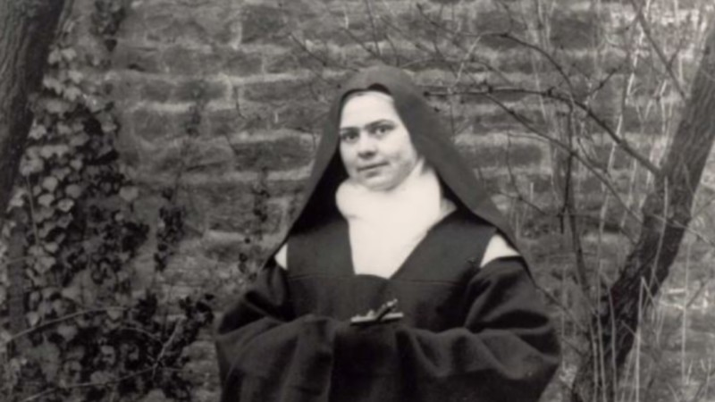 La bienheureuse Elisabeth de la Trinité (1880-1906)  (photo domaine public)