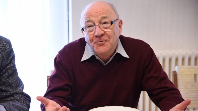 Le philosophe et ancien enseignant fribourgeois François Gachoud (photo: cath.ch)