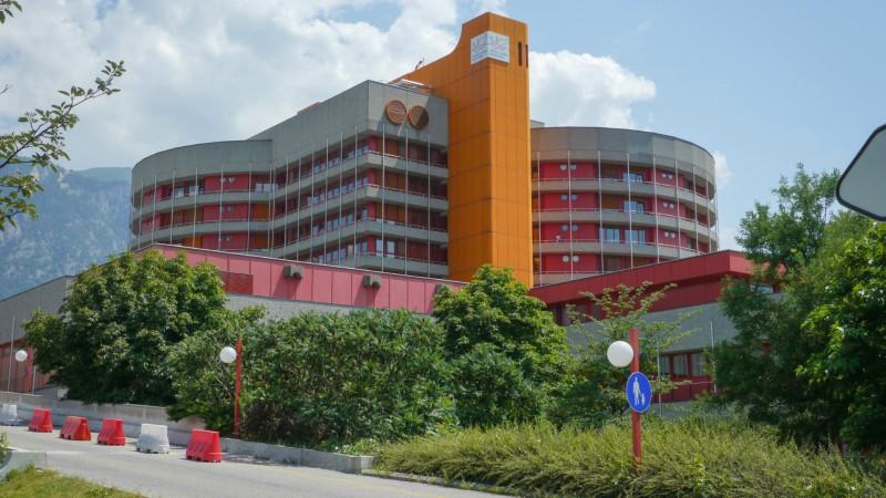 L'hôpital de Sion, en Valais. (Photo: Hôpital du Valais)
