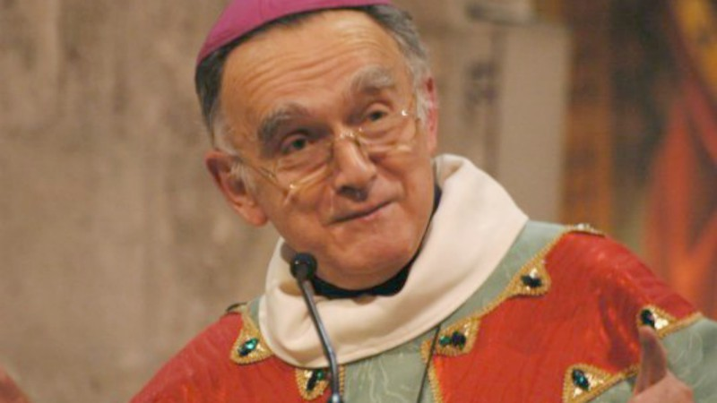 Mgr Georges Pontier, président de la Conférence des évêques de France (Photo:  marseille.catholique.fr)