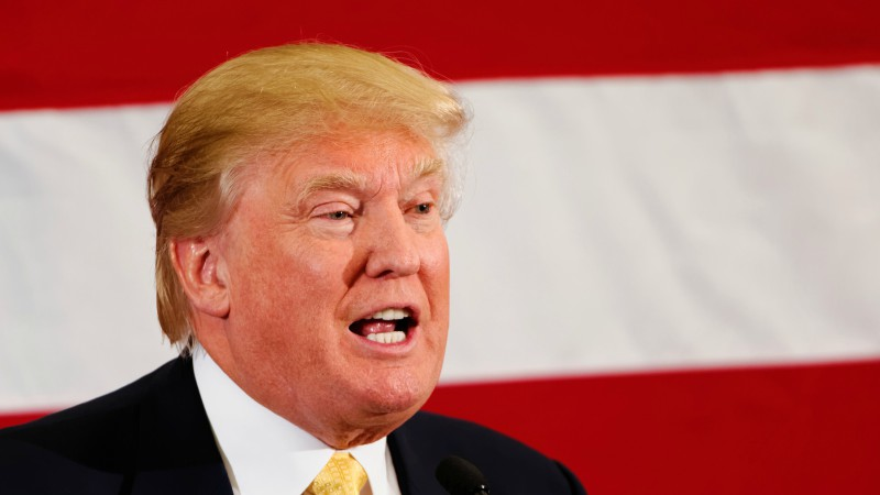 "Donald Trump, candidat Républicain à la présidence des Etats-Unis (Photo:Michael Vadon/Flickr/<a href=""https://creativecommons.org/licenses/by-sa/2.0/legalcode"" target=""_blank"">CC BY-SA 2.0</a>)"