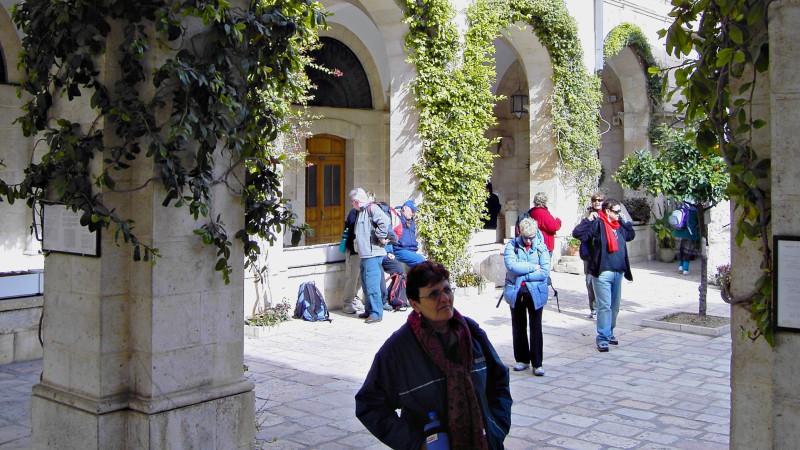 """L'exposition est abritée dans le couvent de la Flagellation, à Jérusalem (Photo:Father Maurer/Flickr/<a href=""""https://creativecommons.org/licenses/by-nc-nd/2.0/legalcode"""" target=""""_blank"""">CC BY-NC-ND 2.0</a>)"""
