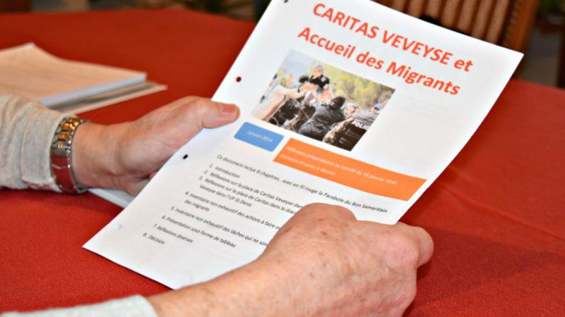 Caritas Veveyse accueille les migrants (Photo:  Jacques Berset)