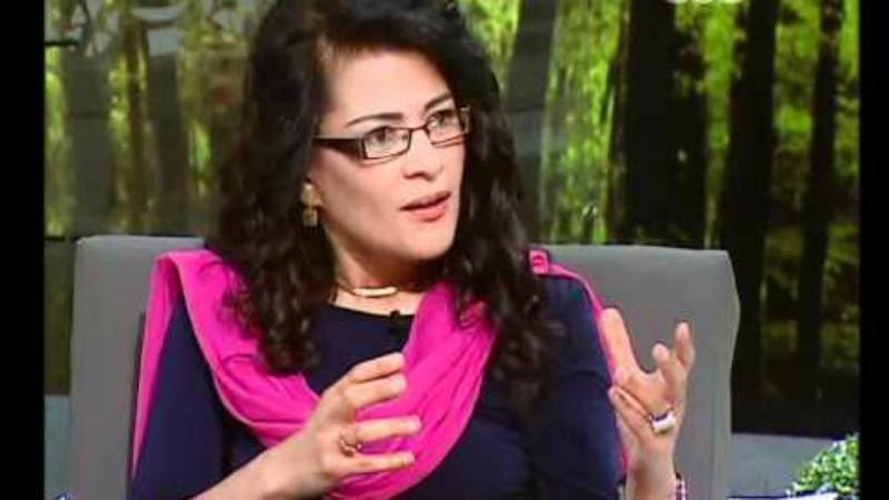 L'écrivaine égyptienne Fatma Naout (Photo:  CBC youtube.com)