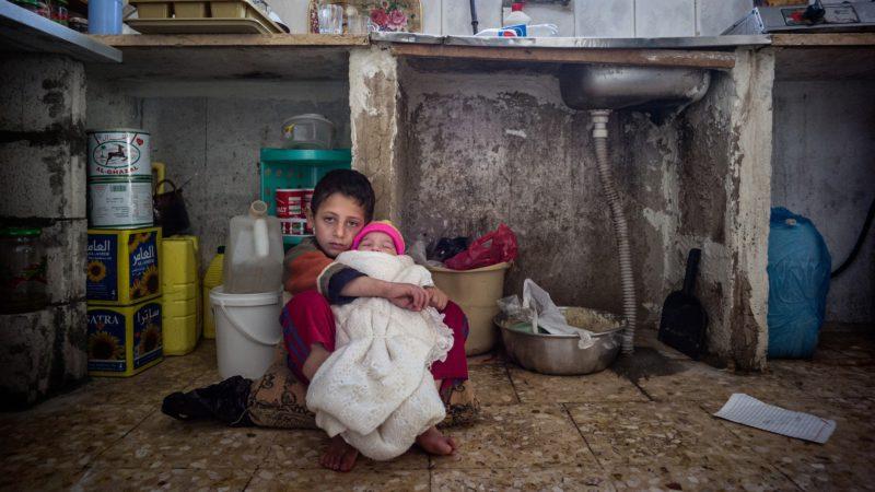 Tant d'innocents payent le prix de la guerre en Syrie (photo d'illustration: Caritas Suisse)