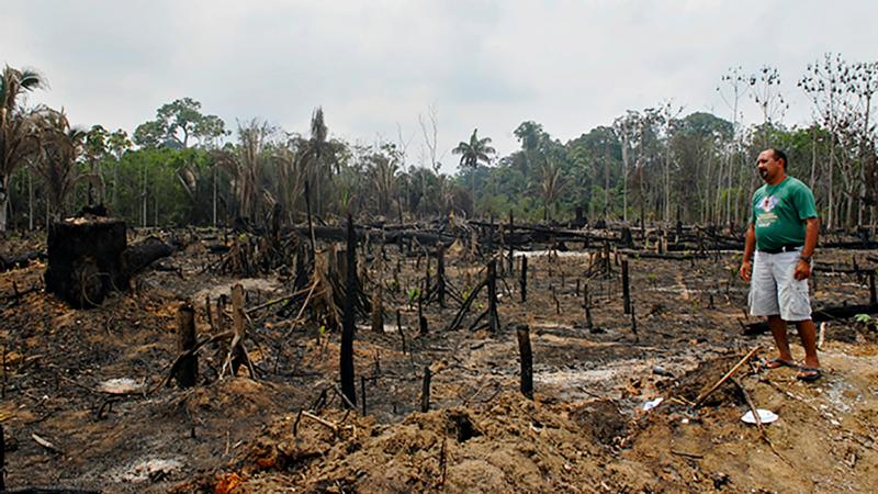 La violence liée à la terre ravage l'Amazonie (Photo:Jean-Claude Gerez)