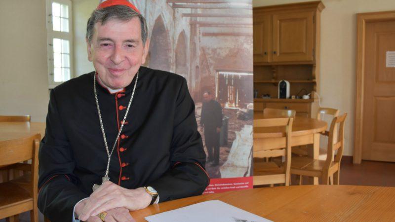 Cardinal Kurt Koch, président du Conseil pontifical pour la promotion de l'unité des chrétiens (Photo:  Jacques Berset)