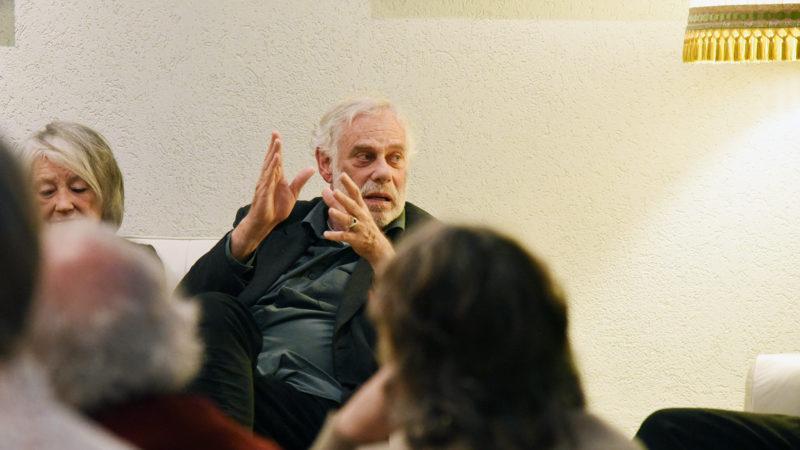 Jean-Luc Bideau, alias Père Etienne Fromenger dans la série Ainsi soient-ils (Photo: Pierre Pistoletti)