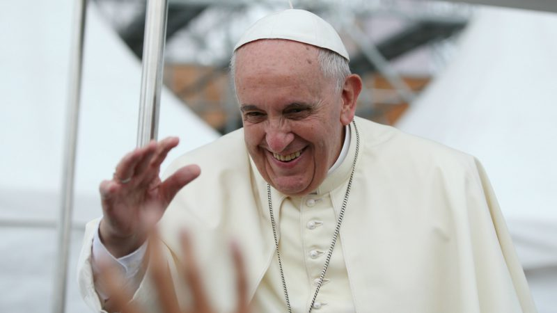 "Le pape François. (Photo: Flickr/Republic of Korea/<a href=""https://creativecommons.org/licenses/by-sa/2.0/legalcode"" target=""_blank"">CC BY-SA 2.0</a>)"