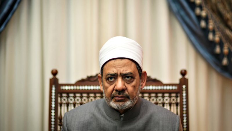Le cheikh Ahmed el-Tayeb, grand imam de l'Université Al-Azhar (Photo: AP Mosa'ag el-Shamy/Keystone)