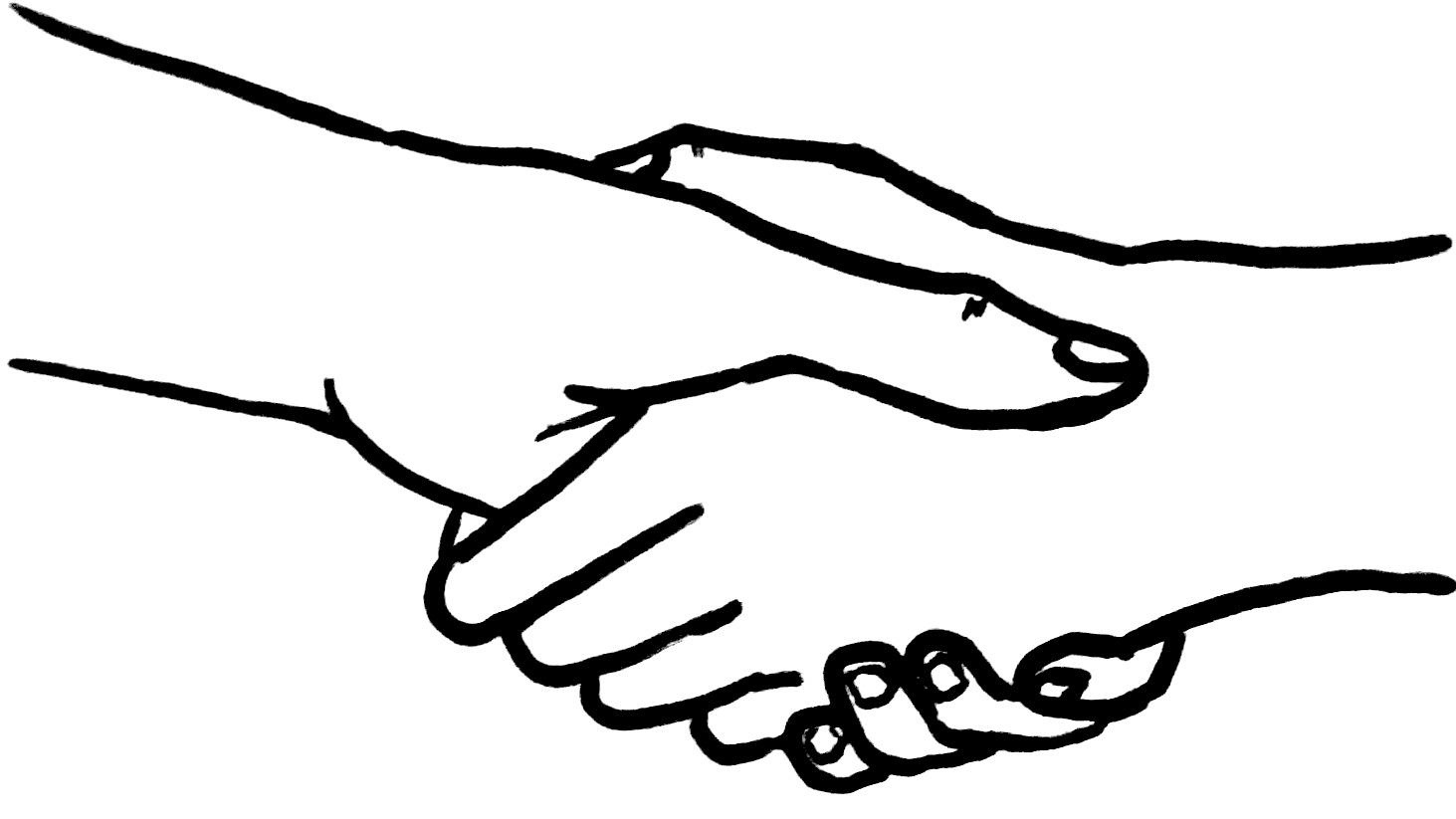 B le campagne les l ves de therwil tenus de serrer la main des enseignantes - Dessin de la main ...