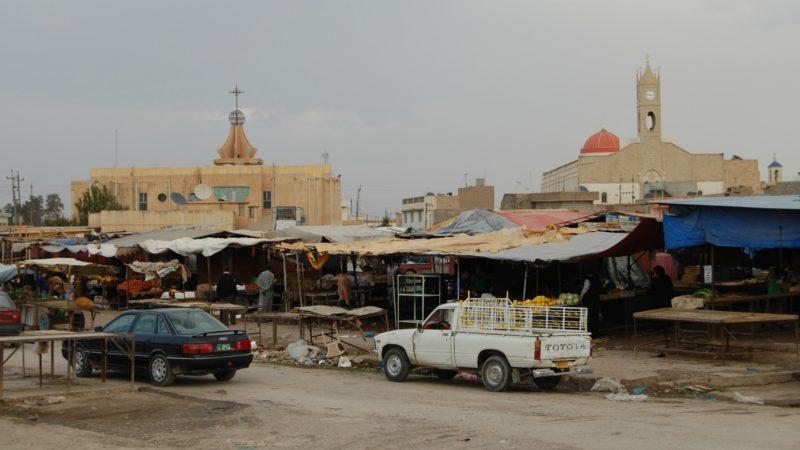 Irak  Ville chrétienne de Qaraqosh, avant son occupation par les terroristes de Daech (Photo:  Jacques Berset)