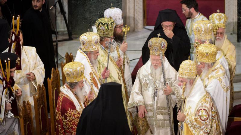 Cérémonie lors du Concile panorthodoxe de Crète (Photo:KNA)