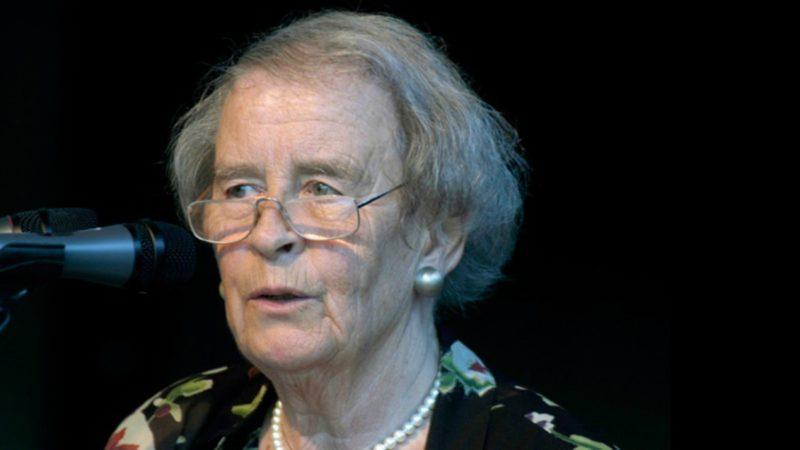La théologienne protestante allemande Elisabeth Moltmann-Wendel (Photo:  epd-bild Hanno Gutmann)