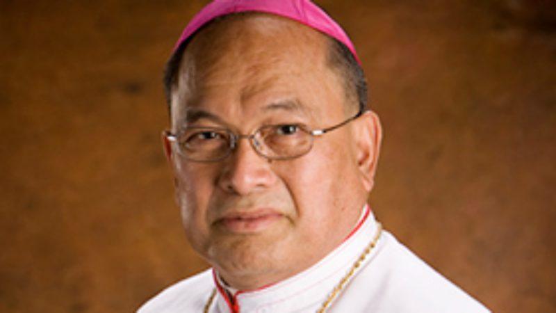 Mgr Anthony Sablan Apuron, ex-évêque d'Agaña (Photo:  www.aganaarch.org)