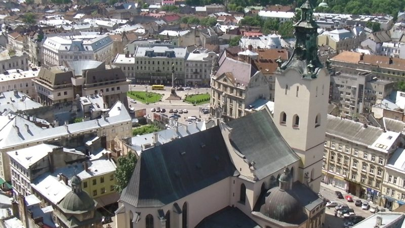 La cathédrale catholique latine de Lviv, en Ukraine (photo domaine public)