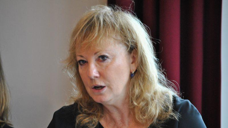 Sylvie Perrinjaquet, présidente de la CECAR (Commission d'écoute, de conciliation d'arbitrage et de réparation)  | © Maurice Page