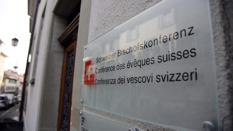 La Conférence des Evêques Suisses (CES), Fribourg (Photo: Pierre Pistoletti)