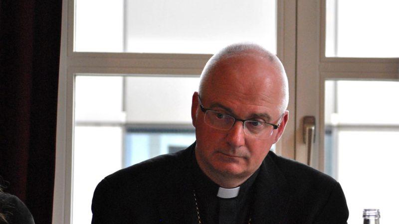 Mgr Charles Morerod, évêque de Lausanne, Genève et Fribourg (photo Maurice Page)