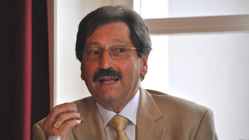 Jacques Nuoffer, président du groupe SAPEC ( (Soutien aux personnes abusées dans une relation d'autorité religieuse) (photo Maurice Page)