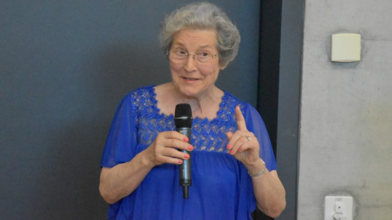Fasting Days 2016  L'ancienne conseillère nationale libérale vaudoise Suzette Sandoz  (Photo:  Jacques Berset)