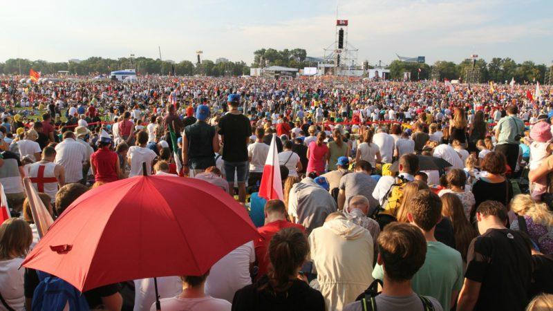 Des centaines de milliers de jeunes se sont rassemblés à Cracovie. (photo: Flickr/Raphael Rodrigues-JMJ 2016/CC BY-NC-ND 2.0)
