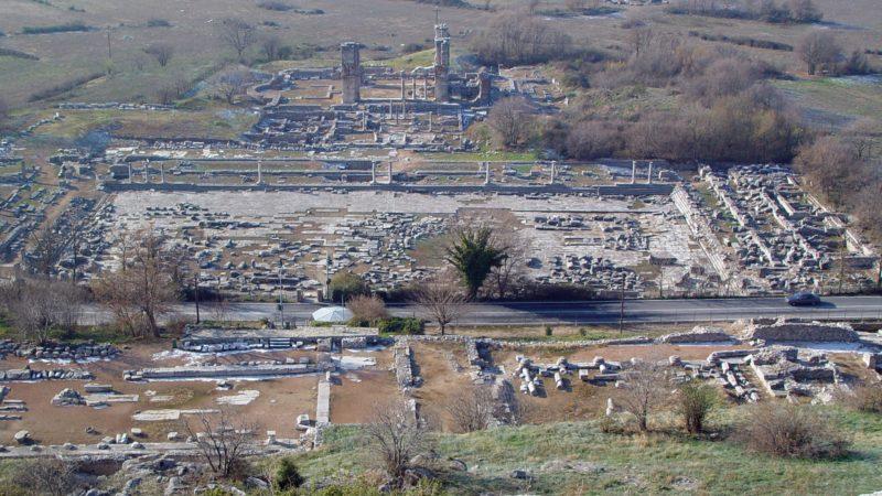 "La cité antique de Philippes au nord de la Grèce (photo  (photo Wikimedia commons Marsyas <a href=""https://creativecommons.org/licenses/by-sa/3.0/legalcode"" target=""_blank"">CC BY-SA 3.0</a>)"