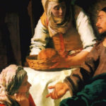 Jan Vermeer, 1654, le Christ dans la maison de Marthe et Marie (Galerie nationale d'Ecosse)