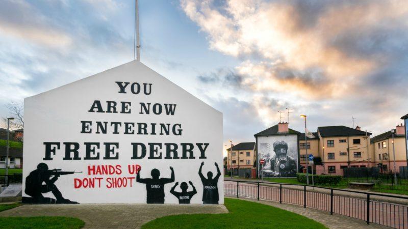 L'Irlande du Nord garde toujours des traces du conflit entre catholiques et protestants (Giuseppe Milo/Flickr/CC BY-NC 2.0)
