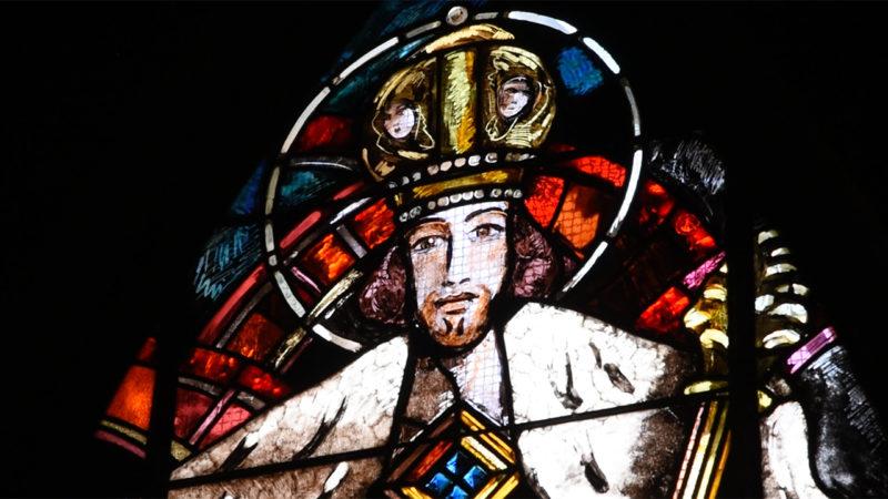 Vitrail du Christ-Roi, église Saint-Martin de Lutry, Alexandre Cingria | © Pierre Pistoletti