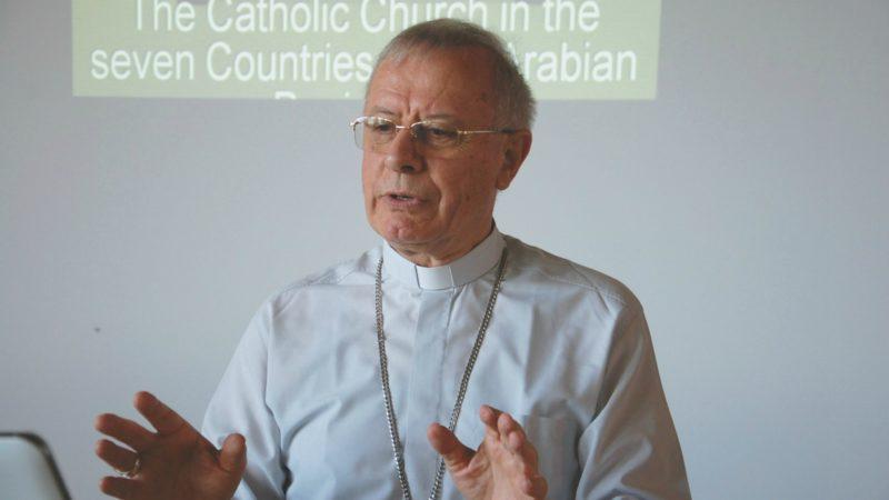 Mgr Paul Hinder, vicaire apostolique d'Arabie du Sud  (Photo:  Jacques Berset)