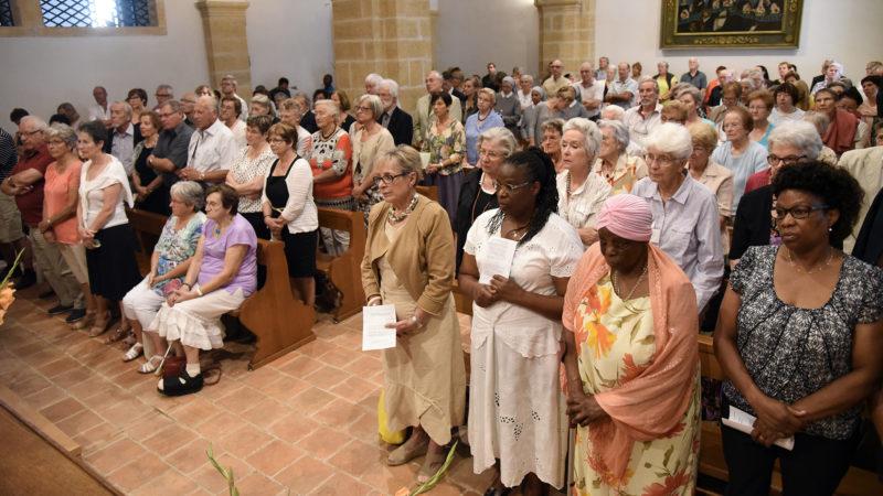 Environ 500 personnes étaient présentes (Photo: Pierre Pistoletti)