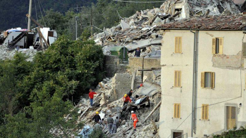 Un fort tremblement de terre a secoué le centre de l'Italie (Photo:  www.caritasitaliana.it)