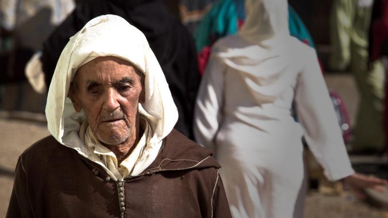 """""""Le Maroc plus apaisé représente-t-il la voie médiane, celle d'un islam sans excès?"""" (Photo: flickr/Elvin/<a href=""""https://creativecommons.org/licenses/by-nc/2.0/legalcode"""" target=""""_blank"""">CC BY-NC 2.0</a>)"""