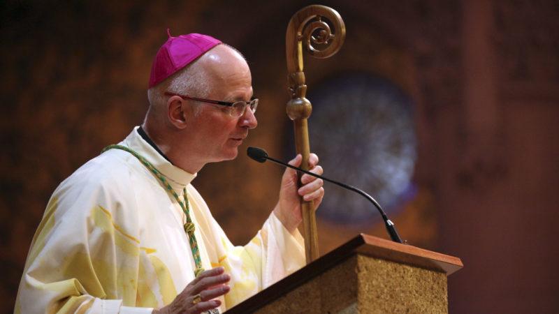 Mgr Charles Morerod, évêque du diocèse de Genève, Lausanne et Fribourg. (Photo: B. Hallet)