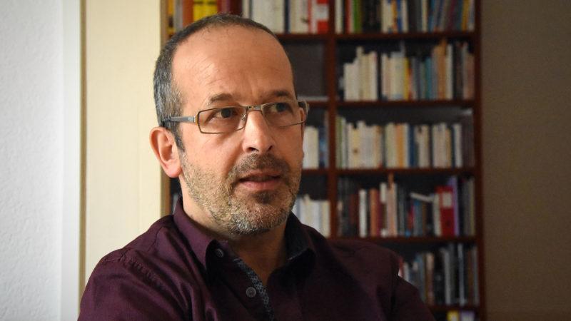 Didier Berret est passionné de Bible et guide dans plusieurs pays du Moyen-Orient. (Photo: Grégory Roth)
