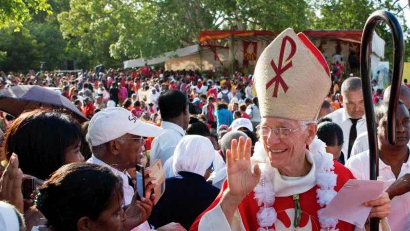 Mgr Maurice Piat, évêque de Port-Louis | www.dioceseportlouis.org