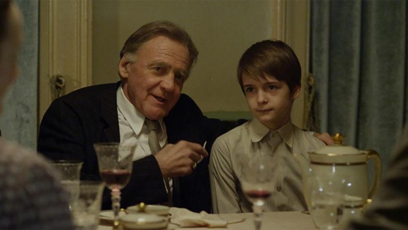 Arthur Bloch avec le jeune Jacques Chessex (© Vega Distribution AG)