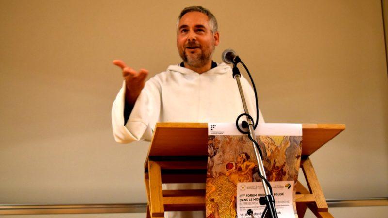 Le frère Antoine Lévy, spécialiste du judaïsme messianique (Photo:  Jacques Berset).
