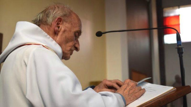 Père Jacques Hamel, né le 30 novembre 1930 à Darnétal – ordonné prêtre le 30 juin 1958 à Rouen – assassiné le 26 juillet 2016  (Photo:  rouen.catholique.fr)