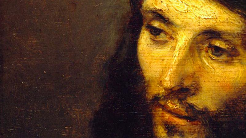"""""""Le texte nous invite à nous reconnaître pauvres, pécheurs et donc invités à vivre du pardon et de la bienveillance de Dieu"""" (""""Tête du Christ"""", Rembrandt, 1648-1650, Berlin)"""