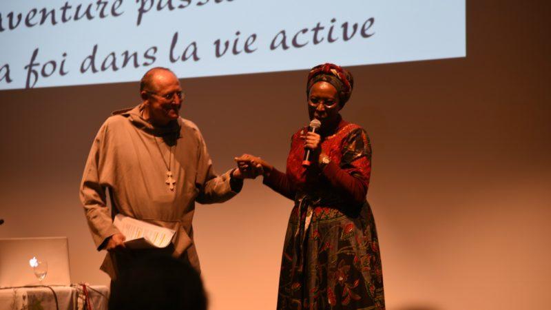 Nicolas Buttet et Maggy Barankiste: une invitation à la fraternité. (photo: Bernard Litzler)