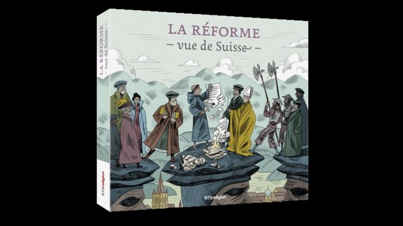 La Réforme vue de Suisse, coffret de 2 CD audio de RTSreligion