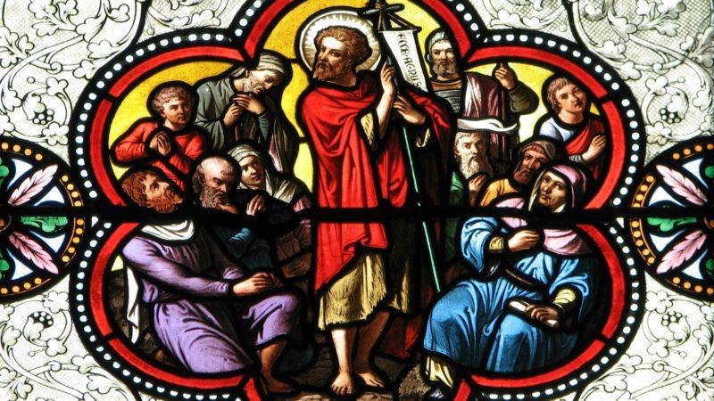 """Jean le rappelle en citant la parole du prophète Isaïe: """"Préparez le chemin du Seigneur…"""". (Photo: Flickr/Lawrence OP/<a href=""""https://creativecommons.org/licenses/by-nc-nd/2.0/legalcode"""" target=""""_blank"""">CC BY-NC-ND 2.0</a>)"""