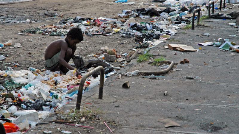 La pauvreté chez les jeunes dépasse 25% dans certains pays. (Photo: J.-C. Gerez)